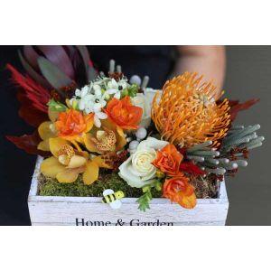 Aranjament floral Emotie de toamna