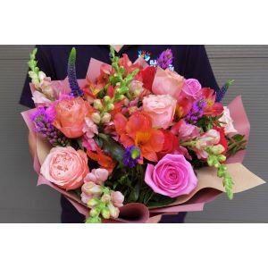 Buchet cu trandafiri Bucurie