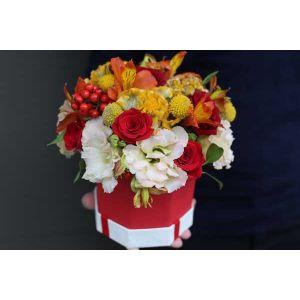 Cutie cu flori Veselie de Toamna